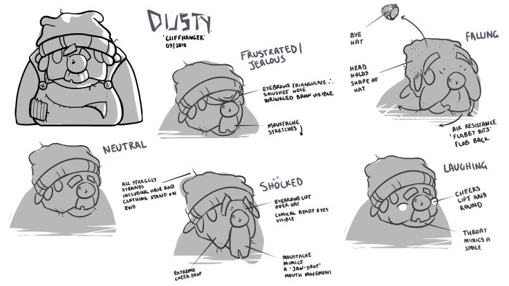 DUSTY FACIAL SHEET